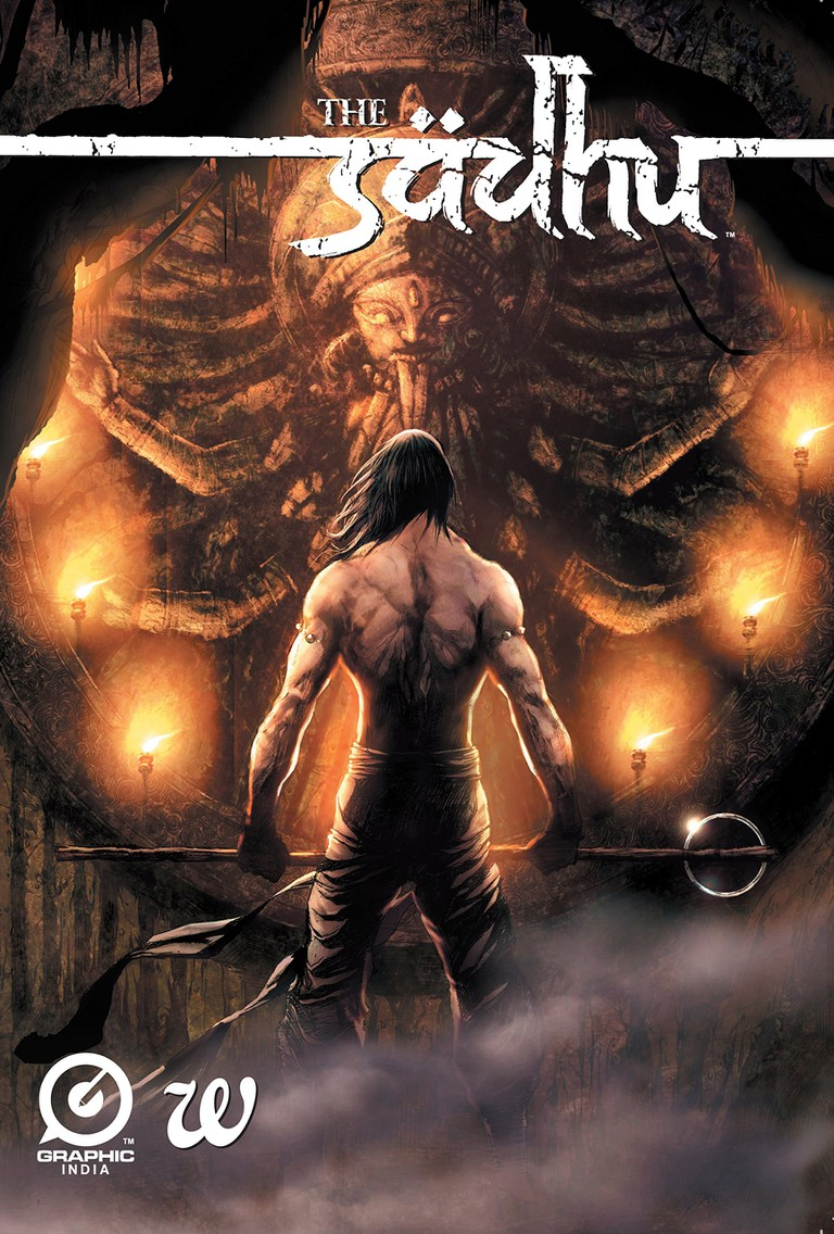 The reincarnated Sadhu tries to save his son