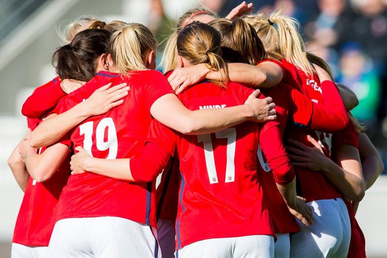 The women's national team | Courtesy of Fotballandslaget