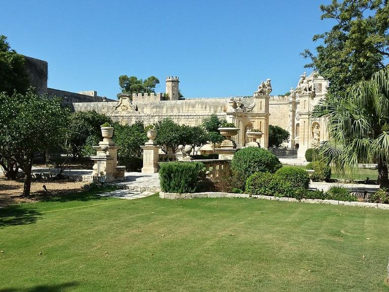 Baroque Gardens of Villa Bologne