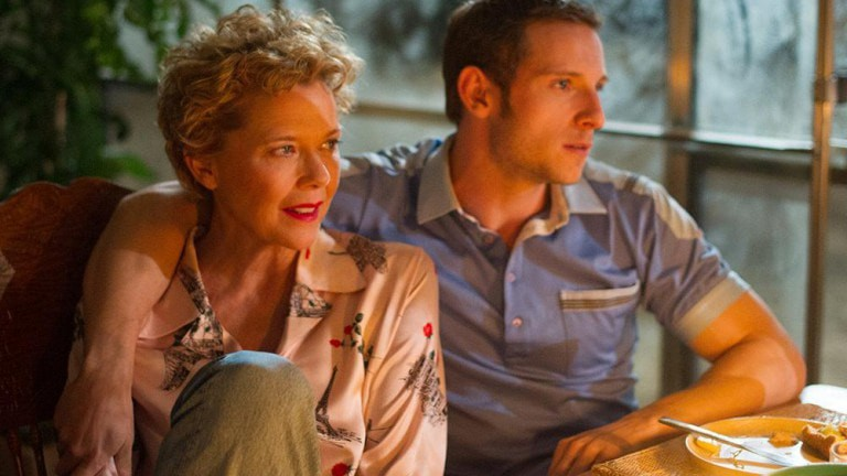 California dreaming: Gloria (Annette Bening) and Peter (Jamie Bell) in Film Stars Don't Die in Liverpool