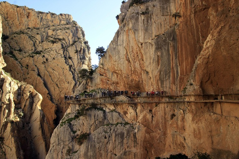 The Caminito del Rey – not for the faint-hearted