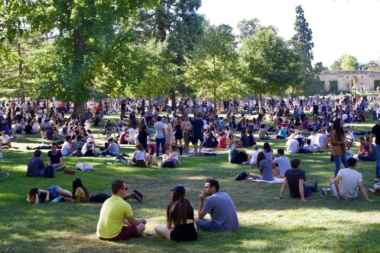 Chill in the city's parks is a must-do while in Bordeaux