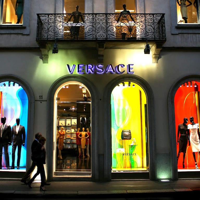Versace in Milan