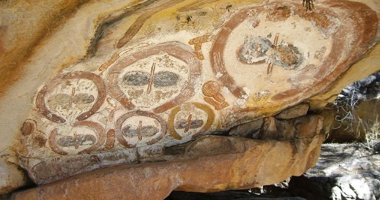 Wandjina Rock Art | © Claire Taylor:Wikimedia Commons