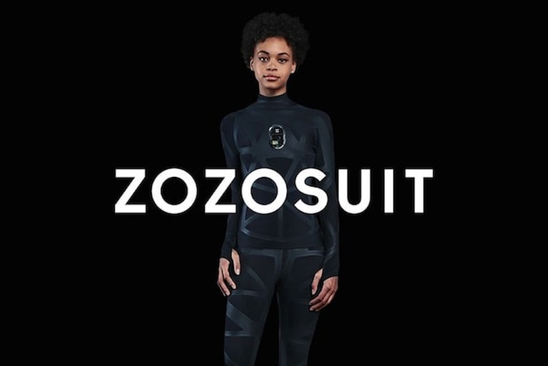 The ZOZOSUIT uses patented sensor technology