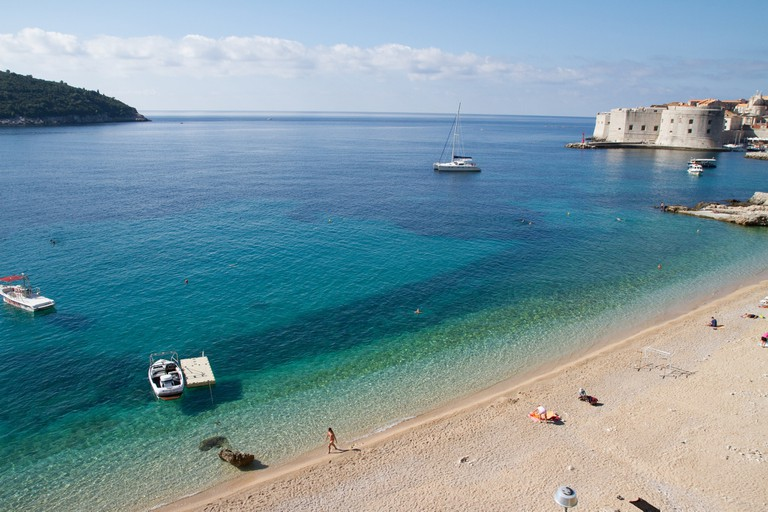 Dubrovnik beach | © Joanne Goldby/Flickr