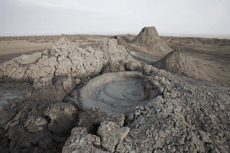 Mud volcano in Gobustan | © Nick Taylor/WikiCommons