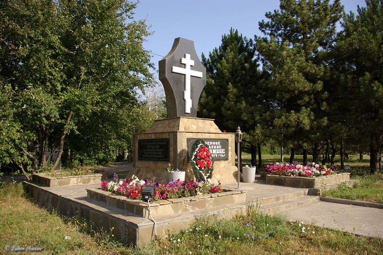 A grave at the Northern Cemetery in Rostov-on-Don