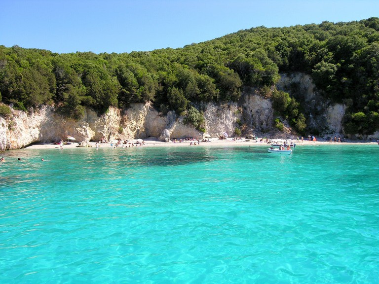 One of the beaches near Syvota