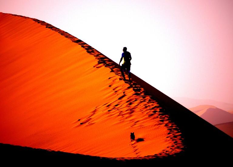 Dune 7 near Walvis Bay