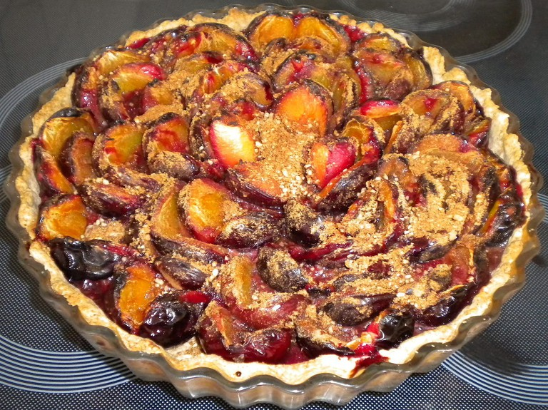 Eating plum pie is the best way to fast