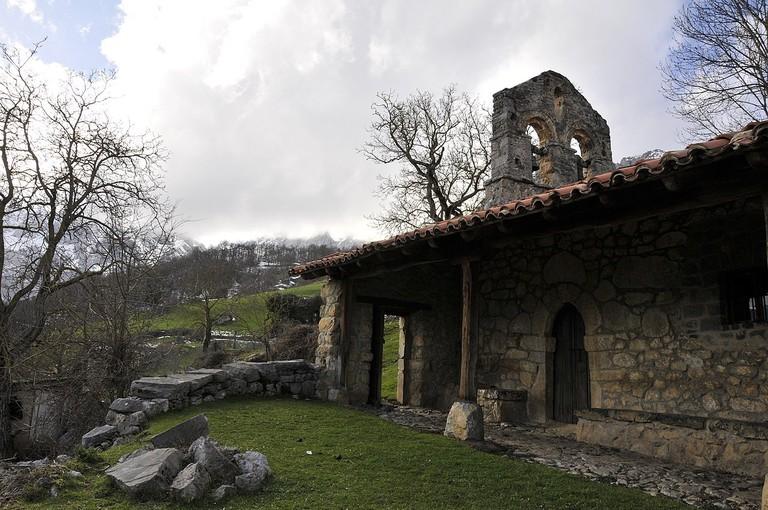 Ermita de Brez, Picos de Europa, Spain