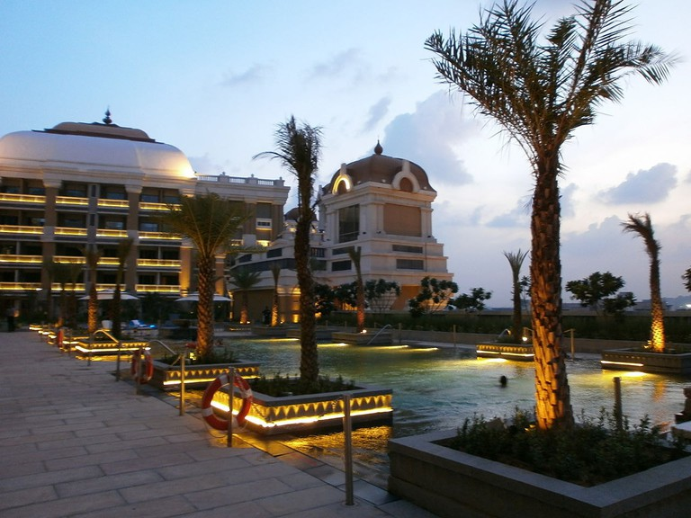 The ITC Grand Chola Hotel is one of the largest hotels in the country