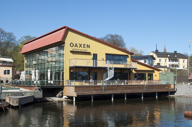 Oaxen Krog is right on the water