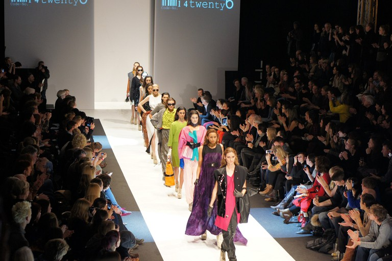 Berlin Fashion Week Runway Show