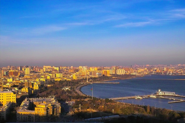View of Caspian Sea | © David Davidson/Flickr