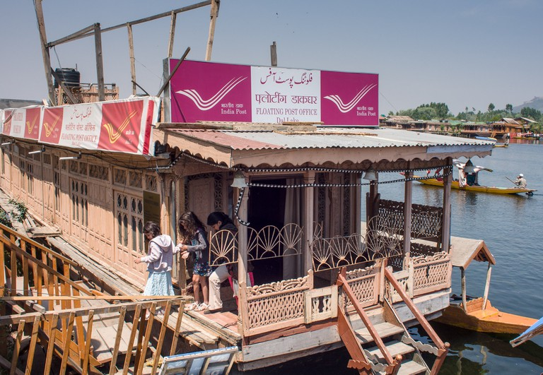Floating Post Office, Dal Lake