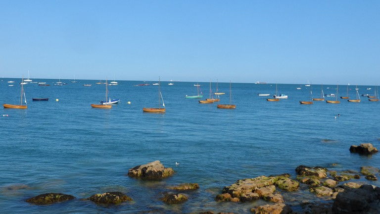 Boats at Seaview, Isle of Wight