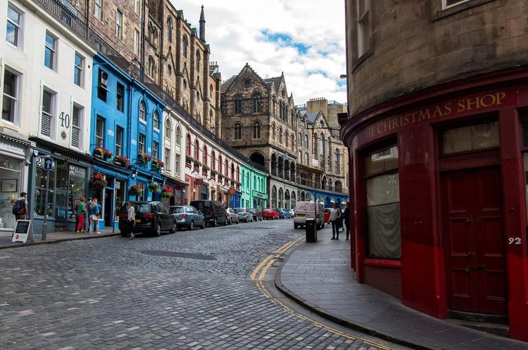 Victoria Street, Edinburgh   © Raphaël Chekroun / Flickr