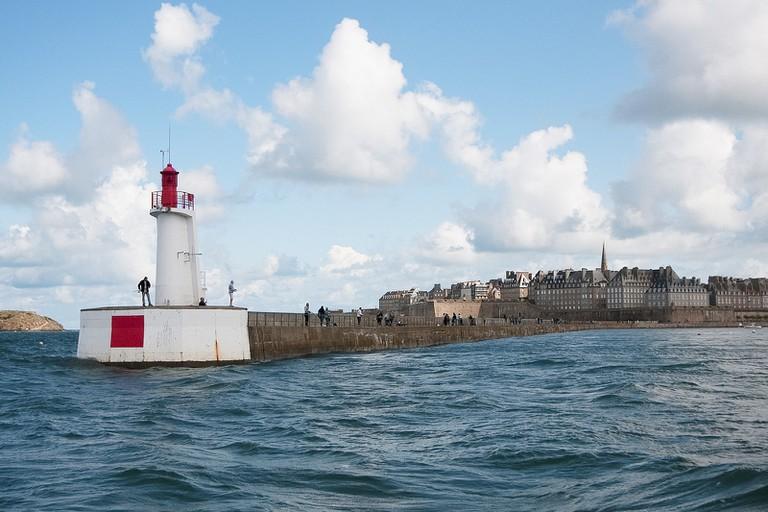 Lighthouse by Saint Malo