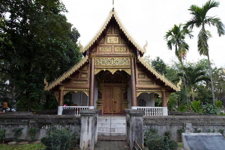 Beautiful Wat Chiang Man