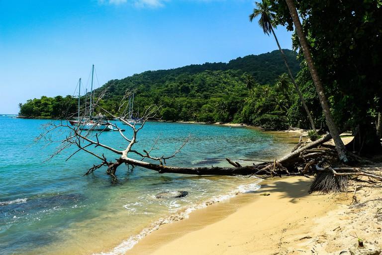 A beautiful beach near Capurgana