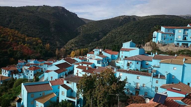 Júzcar, Spain