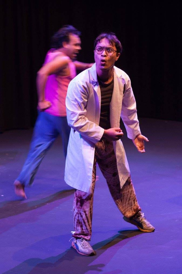 Actor on stage | © Penang Performing Arts Centre (PAC)