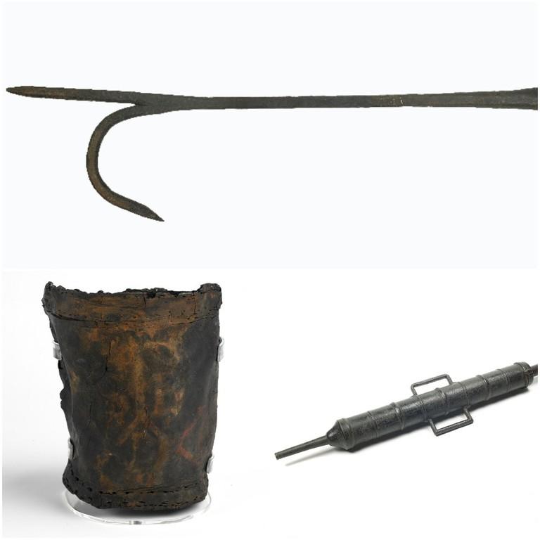 17th-century firefighting equipment
