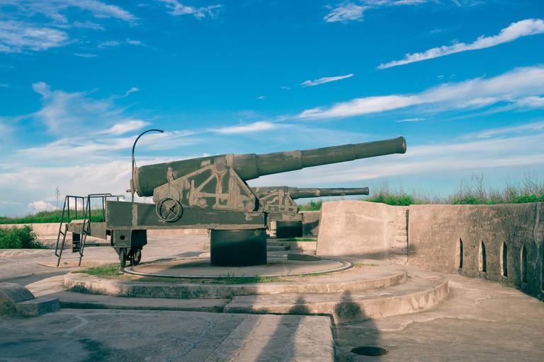 Cannon on Xiyu West Fort
