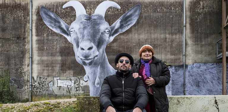 JR and Agnès Varda make a case for goats with horns in Faces Places