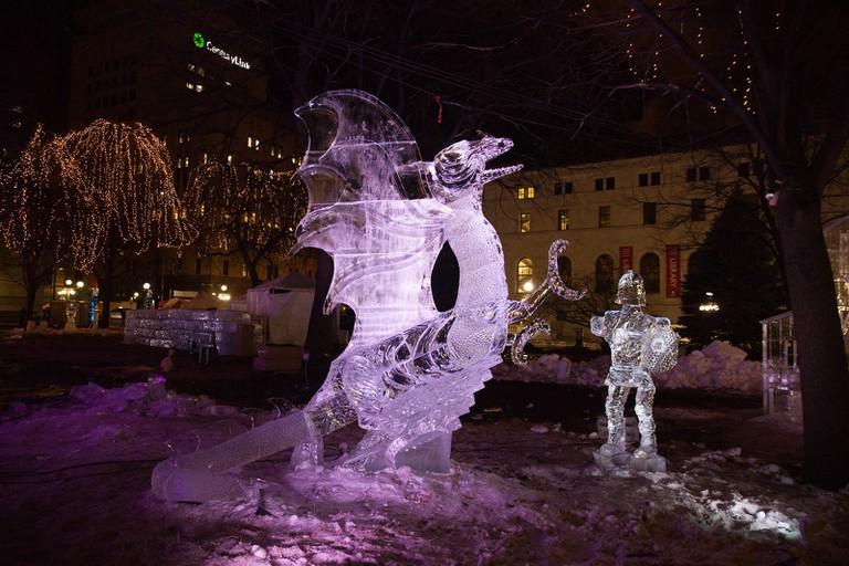 St. Paul Winter Festival | © Darrin Johnson/Courtesy of St. Paul Winter Festival
