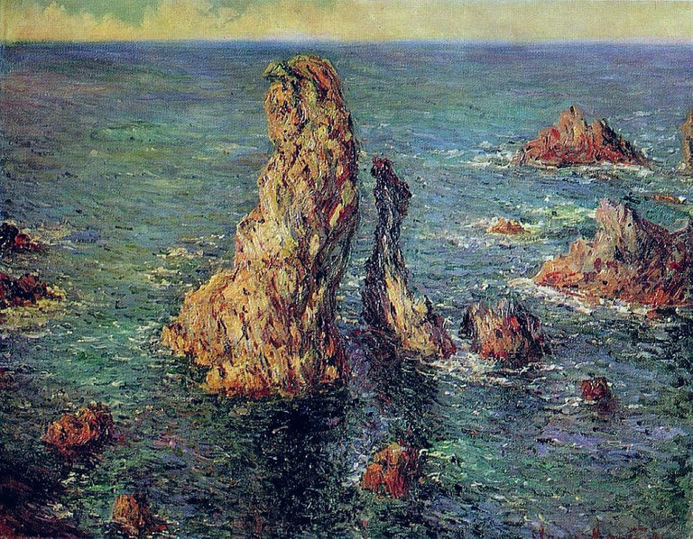 Claude Monet's Port Coton