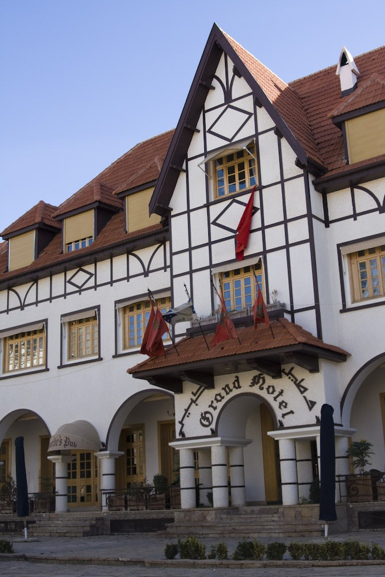 Grand Hotel in Ifrane, Morocco