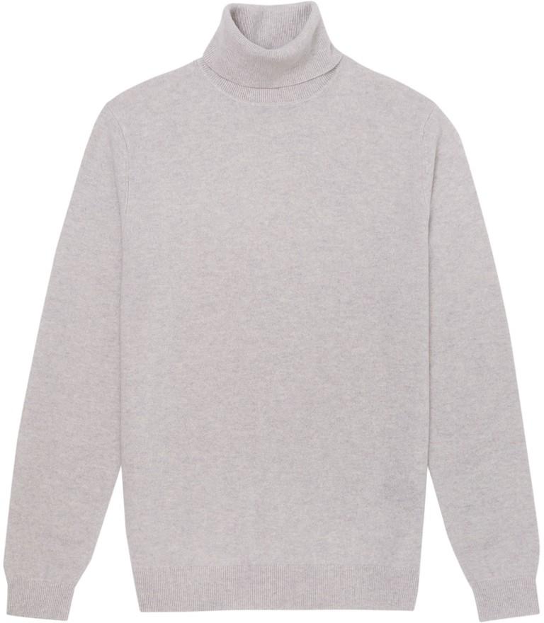 Cashmere roll-neck jumper