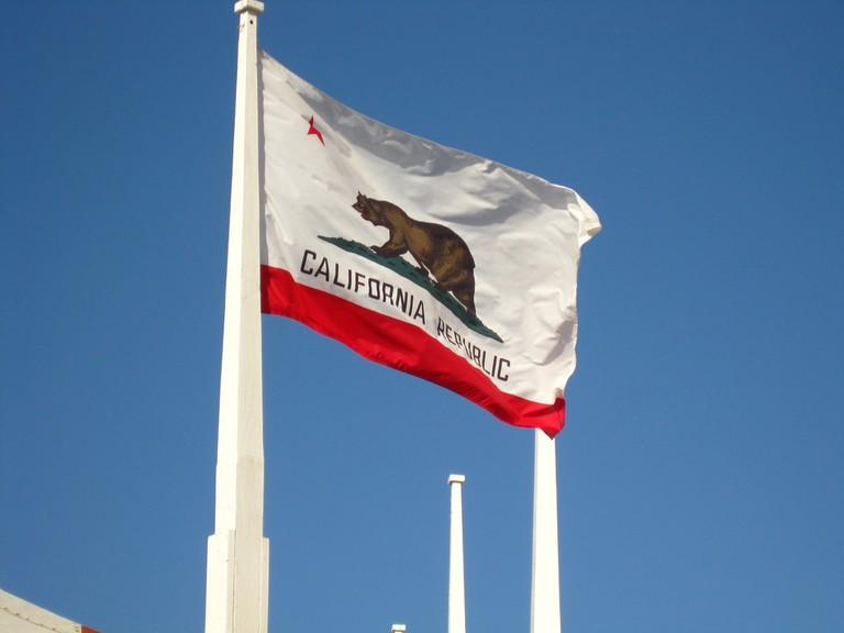 The California flag