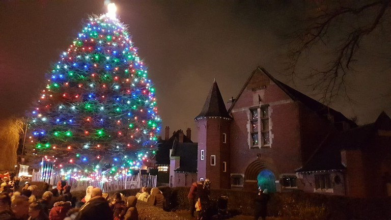 Bournville Christmas tree | © Facebook
