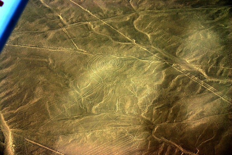 Nazca Lines – Monkey