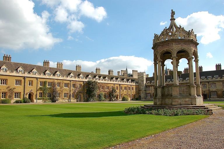 The Great Court, Trinity College Cambridge