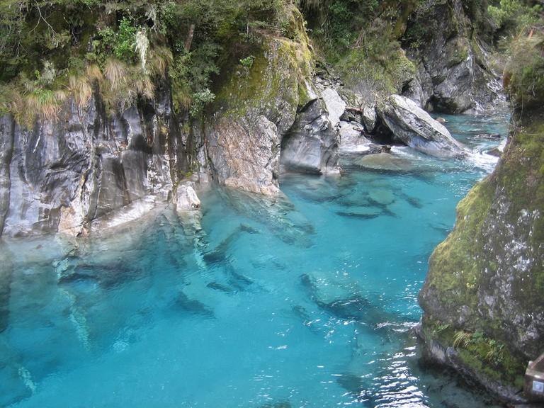 Blue Pools, Makarora