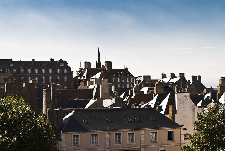 St. Malo Rooftops