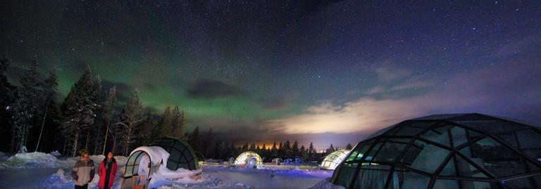Aurora domes