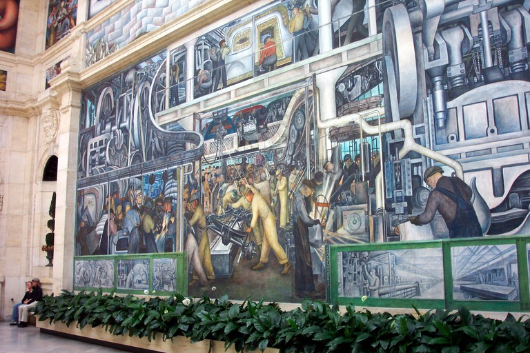 Diego Rivera's 'Detroit Industry' | © Onasill ~ Bill Badzo/Flickr