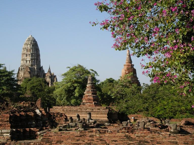 The beautiful Ayutthaya Historical Park