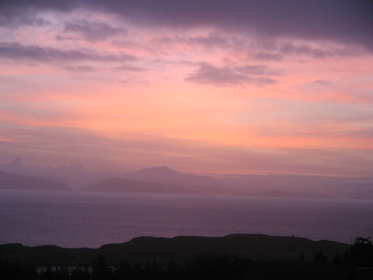 Isle Of Eigg Sunrise