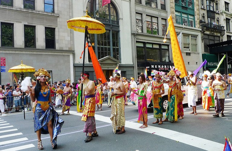Indonesian LGBT at NYC Pride March