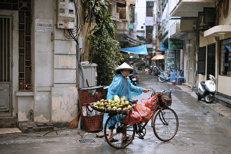Rain is part of life in Vietnam | © Oscar Saunders/Flickr