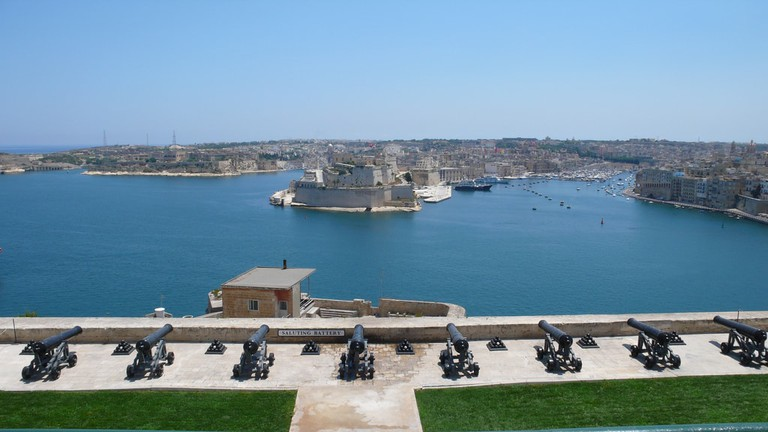 Upper Barrakka Saluting Battery