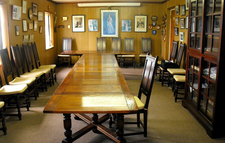 Tristan da Cunha Council Chamber