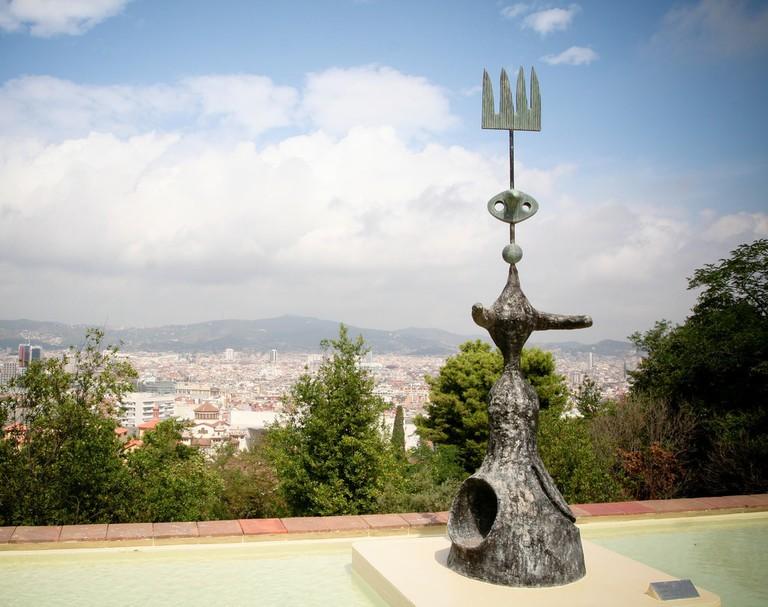 Lluna, sol i una estrella, Joan Miro, Barcelona